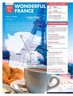 Travel offers in the Star Travel catalogue in Kuala Lumpur