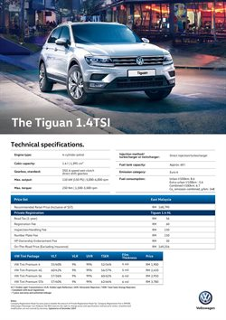 Cars, motorcycles & spares offers in the Volkswagen catalogue in Kota Kinabalu ( More than a month )