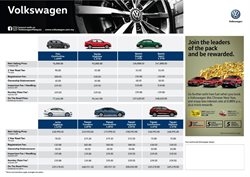 Cars, motorcycles & spares offers in the Volkswagen catalogue in Kuala Lumpur