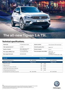 Offers from Volkswagen in the Kuala Lumpur leaflet