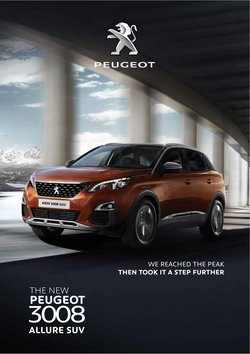 Cars, motorcycles & spares offers in Peugeot catalogue ( More than a month)