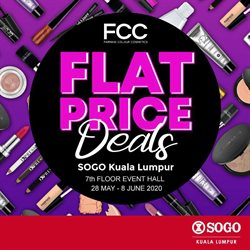Clothes, shoes & accessories offers in the SOGO catalogue in Sunway-Subang Jaya  ( 3 days left )