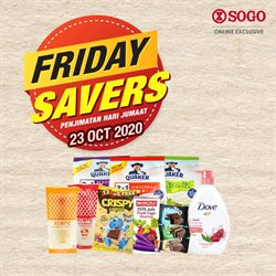 Clothes, shoes & accessories offers in SOGO catalogue ( Expires today)