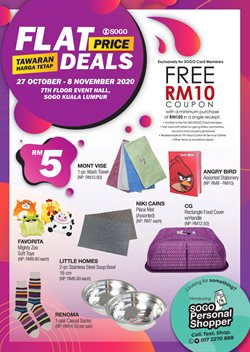 Clothes, shoes & accessories offers in SOGO catalogue ( 8 days left)