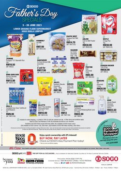 SOGO offers in SOGO catalogue ( 3 days left)