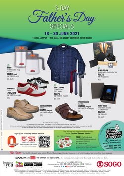 SOGO offers in SOGO catalogue ( Published today)