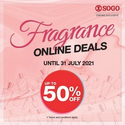 Department Stores offers in SOGO catalogue ( 7 days left)