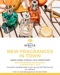 Lampe Berger Paris offers in Lampe Berger Paris catalogue ( More than a month)