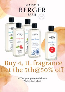 Perfume & Beauty offers in Lampe Berger Paris catalogue ( 1 day ago)