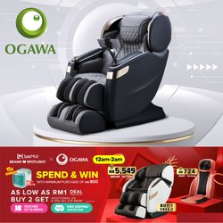 OGAWA offers in OGAWA catalogue ( Expires tomorrow)