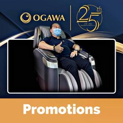 OGAWA offers in OGAWA catalogue ( 3 days left)