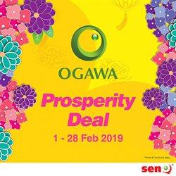 Offers from OGAWA in the Kajang-Bangi leaflet