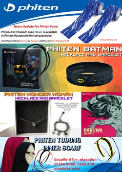 Offers from Phiten in the Kuala Lumpur leaflet