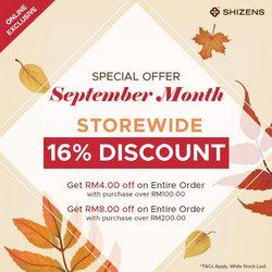 Perfume & Beauty offers in Shizens catalogue ( 6 days left)