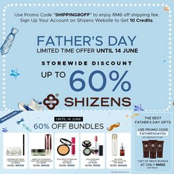 Perfume & Beauty offers in Shizens catalogue ( Expires today)