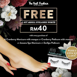 Offers from The Nail Parlour in the Kajang-Bangi leaflet