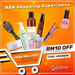 Perfume & Beauty offers in Shins catalogue ( 6 days left)