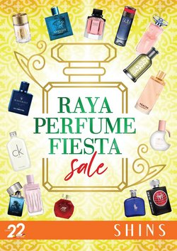 Perfume & Beauty offers in Shins catalogue ( Expires today)