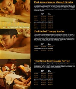Offers from Thai Odyssey in the Kuala Lumpur leaflet