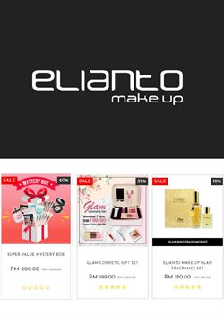 Offers from Elianto Make Up in the Kuala Lumpur leaflet