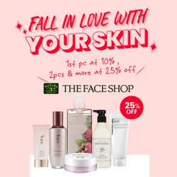 The Face Shop offers in The Face Shop catalogue ( 9 days left)