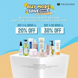 The Face Shop offers in The Face Shop catalogue ( Published today)