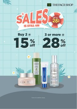 The Face Shop offers in The Face Shop catalogue ( 13 days left)