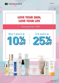 Perfume & Beauty offers in The Face Shop catalogue ( 6 days left)