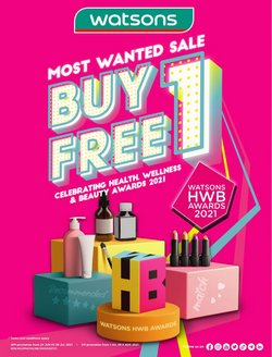 Perfume & Beauty offers in Watsons catalogue ( 5 days left)
