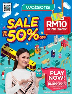 Offers from Watsons in the Kajang-Bangi leaflet