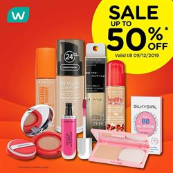 Offers from Watsons in the Sunway-Subang Jaya  leaflet