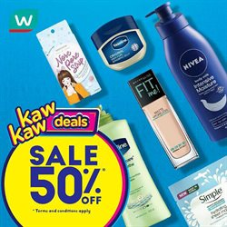 Perfume & Beauty offers in the Watsons catalogue in Johor Bahru