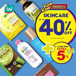 Perfume & Beauty offers in the Watsons catalogue in Penang ( 2 days left )