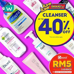 Perfume & Beauty offers in the Watsons catalogue in Petaling Jaya ( 3 days left )