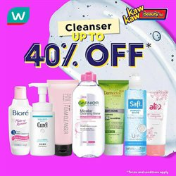 Perfume & Beauty offers in the Watsons catalogue in Sunway-Subang Jaya  ( Expires today )