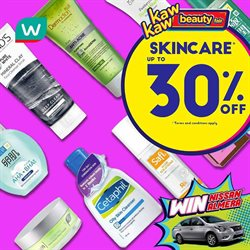 Perfume & Beauty offers in the Watsons catalogue in Kuala Terengganu ( Expires tomorrow )