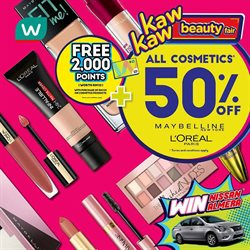 Perfume & Beauty offers in the Watsons catalogue in Kuala Terengganu ( Expires today )