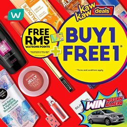 Watsons catalogue ( 3 days left )