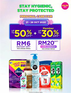 Perfume & Beauty offers in Watsons catalogue ( 3 days left)
