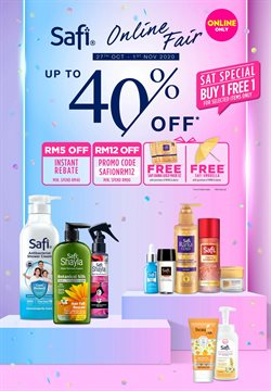 Perfume & Beauty offers in Watsons catalogue ( Expires tomorrow)