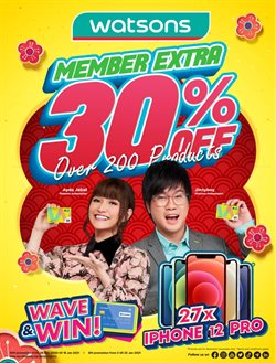 Perfume & Beauty offers in Watsons catalogue ( 27 days left)