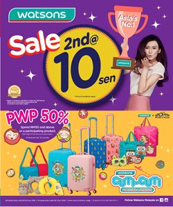 Perfume & Beauty offers in the Watsons catalogue in Kuala Lumpur