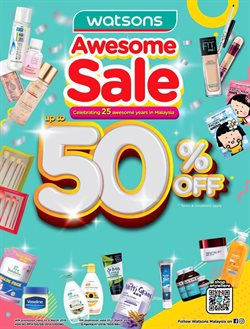 Perfume & Beauty offers in the Watsons catalogue in Kajang-Bangi