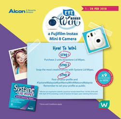 Offers from Watsons in the Kuala Lumpur leaflet