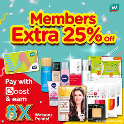 Offers from Watsons in the Kuching leaflet