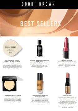 Bobbi Brown offers in Bobbi Brown catalogue ( More than a month)