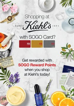 Kiehl's catalogue in Petaling Jaya ( 19 days left )