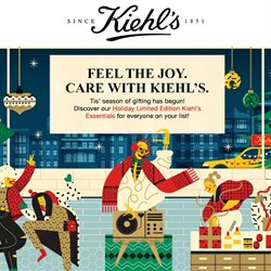 Kiehl's offers in Kiehl's catalogue ( More than a month)