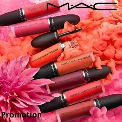 MAC Cosmetics offers in MAC Cosmetics catalogue ( More than a month)