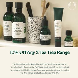 The Body Shop offers in The Body Shop catalogue ( 5 days left)